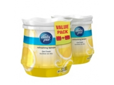 Ambi Pur Gel Fresh 180gm REFRESHING LEMON (VALUE PACK 2 QTY)