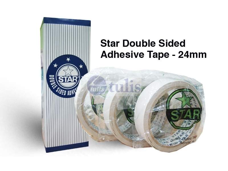 Star Double Sided Tape 1 Quot X8m Largest Office Supplies