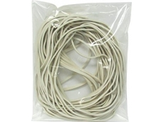 """RUBBER BAND 15"""" WHITE 200gm"""