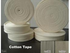 COTTON TAPE WHITE (10')