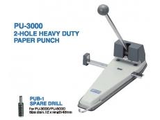OPEN PUNCHER PU-3000 2 Hole HEAVY DUTY