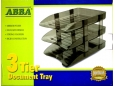 ABBA DOCUMENT TRAY 3 TIER