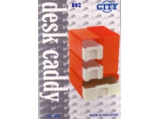 DESK CADDY CITY 3 DRAWER MODEL 882