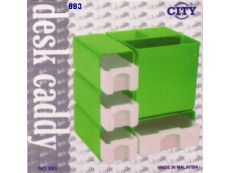 DESK CADDY CITY 4 DRAWER MODEL 883