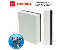 "Toshiba Canvio Desk  Slim Series usb3 (3.5"")  3TB"