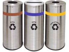 Stainless Steel Litter Recycle Bin