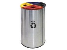 Stainless Steel Litter 4 in 1 Recycle Bin