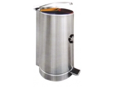 Stainless Steel Litter 3 in 1 Recycle Pedal Bin