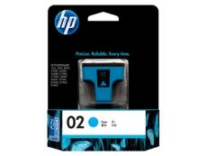 HP  No 02 AP Photosmart C5180/6180/7180 (Cyan) C8771WA