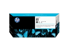 HP No 81 Designjet 5000/5000ps (Black)(680ml) C4930A