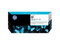 HP No 81 Designjet 5000/5000ps (Cyan)(680ml) C4931A