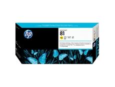HP No 81 Designjet 5000/5000ps (Yellow)(680ml) C4933A
