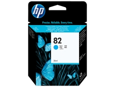 HP No 82 Designjet 500/500ps/800/800ps (Cyan)(69ml) C4911A