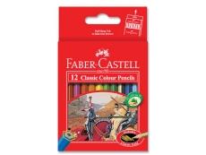 FABER CASTEL (SHORT) 12 CLASSIC COLOR