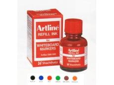 ARTLINE WHITE BOARD INK RED 20cc