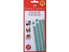FABER CASTELL TACK-IT 75GM - 120 PCS