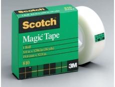 """SCOTCH MAGIC TAPE 3M-810 1/2""""X36"""