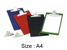 EAST FILE JUMBO CLIP BOARD FILE / (A4) 2496A PVC with BIG CLIP