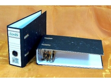 BANTEX VOUCHER FILE 1430 7cm C/BOARD BLK