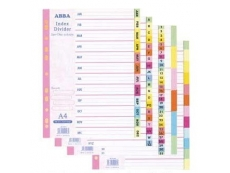 ABBA COLOUR INDEX DIVIDER 1-31