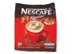 Nescafe 3 in 1 Coffee Mix Regular (Pack of 30)