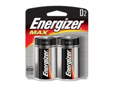 ENERGIZER BATTERY  E95-BP2 Size D (2'S)