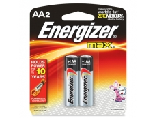 ENERGIZER BATTERY E91-BP2 SIZE AA (2's)