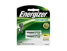 ENERGIZER RECHARGEABLE BATTERY NH12BP2 900mAH AAA (2')
