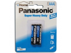 PANASONIC SUPER HEAVYDUTY BATTERY BTR-PA-3V-SH SIZE AAA (2's)