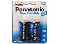 PANASONIC SUPER HEAVYDUTY  BATTERY BTR-PA-C-SH Size C (2'S)