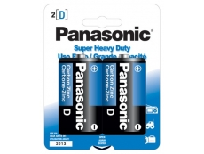 PANASONIC SUPER HEAVYDUTY  BATTERY BTR-PA-D-SH Size D (2'S)