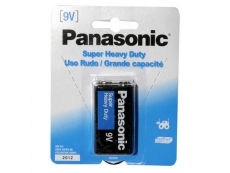 PANASONIC SUPER HEAVYDUTY BATTERY BTR-PA-9V-SH
