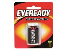 EVEREADY SUPER HEAVY DUTY BATTERY 1222-BP1 9v