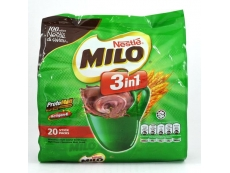 MILO Chocolate 3 in1 Pack 20 X 30gm
