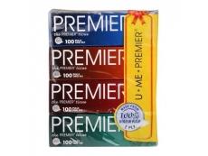 Premier Facial Tissues - ( 4x 100's )