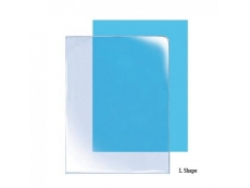 CLEAR DOCUMENT HOLDER L SHAPE A4