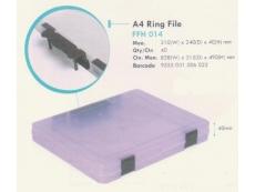 FELTON DOCUMENT HOLDER A4 RING FILE 40MM