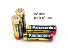 PANASONIC AA BATTERY ALKALINE (6S')