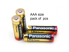 PANASONIC AAA BATTERY ALKALINE (6S')