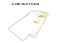 LUCKY STAR A4 SIMILI STICKER (MATT) 100 SHT