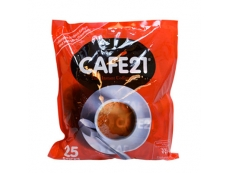 CAFÉ 21 2in1 Instant Coffee (without sugar) Pack 25 X 12gm