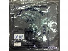 """GARBAGE BAG  / BAG SAMPAH 36""""X48""""  BLACK HEAVY DUTY"""