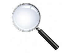 MAGNIFYING GLASS LARGE 75MM