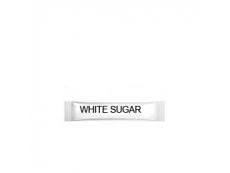 NO FRILL White Sugar Stick Pack 250 X 5gm