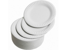 Paper Plate 8in. Pack 50's