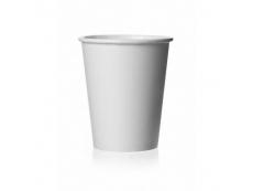 Plain White Paper Cup 9oz Pack 100's 9.90