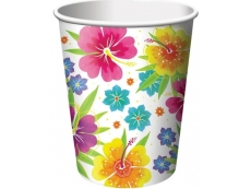 White Paper Cup with Flower Pattern 9oz. Ctn 2000's 200.00