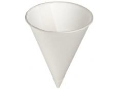 White Paper CONE Cup 4 oz Pack 250's 13.90