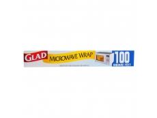 GLAD Plastic Microwave Wrap Roll 30m X 30.5cm 16.90