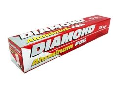 DIAMOND Aluminum Foil (Long) Roll 7.62m X 45.7cm
